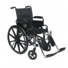 "New Ultra Light Extra Wide 20"" Lightweight Wheelchair/Wheel Chair"
