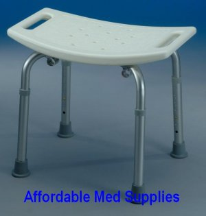 New Bath Bench Seat/Shower Chair for Bathroom Safety