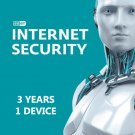 ESET INTERNET SECURITY 2020 ( 3 YEAR , 1 DEVICE)- Globale Key