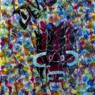 Bristol board painting, one of kind, Abstract art