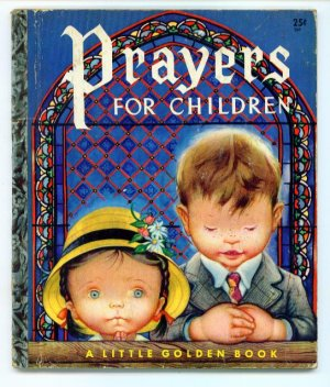 Prayers for Children Little Golden Book Eloise Wilkin