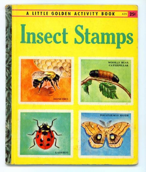 Insect Stamps Little Golden Activity Book 1st Ed