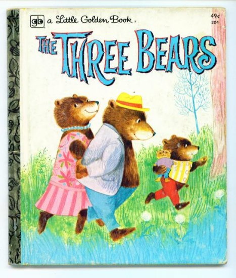 The Three Bears Little Golden Book ~ Mabel Watts