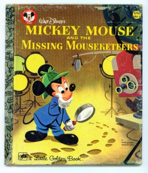 Mickey Mouse & the Missing Mouseketeers Little Golden Book