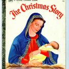 Vintage Little Golden Book CHRISTMAS STORY Eloise Wilkin