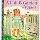 Child's Garden of Verses Little Golden Book Eloise Wilkin
