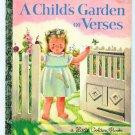 Child's Garden of Verses Little Golden Book Eloise Wilkin