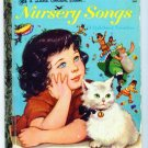 Vintage Little Golden Book ~ Nursery Songs
