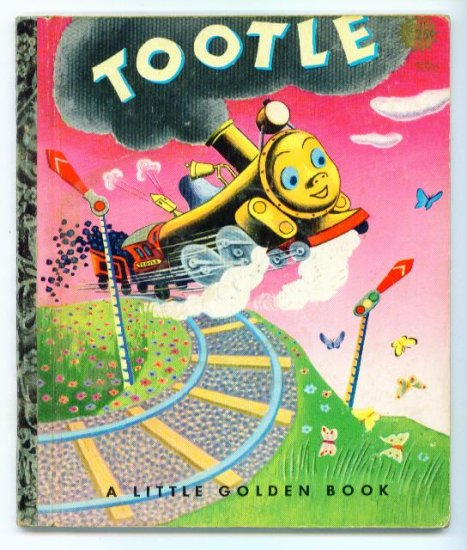 Vintage Little Golden Book ~ TOOTLE