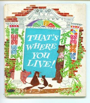 That's Where You Live Whitman Tell-A-Tale Book