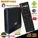 Smartiptvgold Android Tv Box 9.1 Smart ip TVBox 4GB 32GB + Gift One Year Subscription -50%