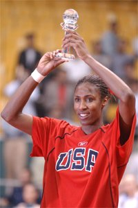 The Story Of Lisa Leslie - Queen Of The Boards - Basketball