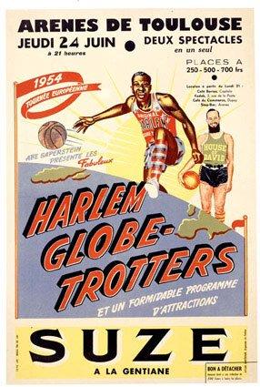 Harlem Globetrotters - African American Achievers & Exhibition Basketball Team