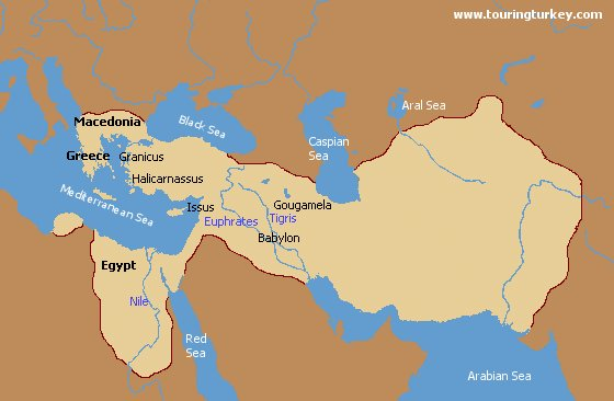 The History Of The Empire Of Alexander The Great - Great Empire Of The Past