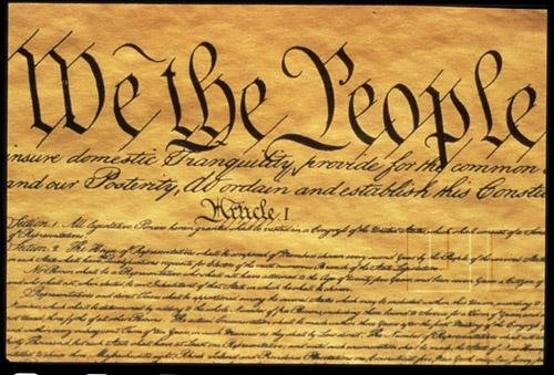 Constitutional Foundations - Creating Government In America - The Constitution