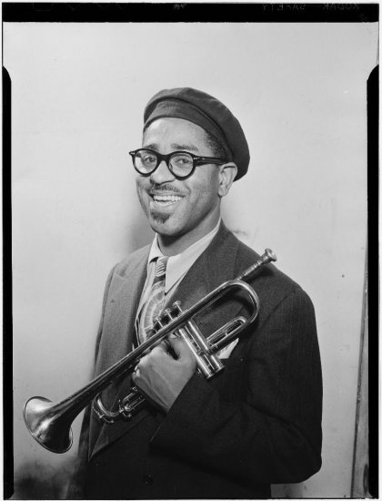Dizzy Gilespie - Performer - Bandleader - Composer - Musician & The Father Of Bebop