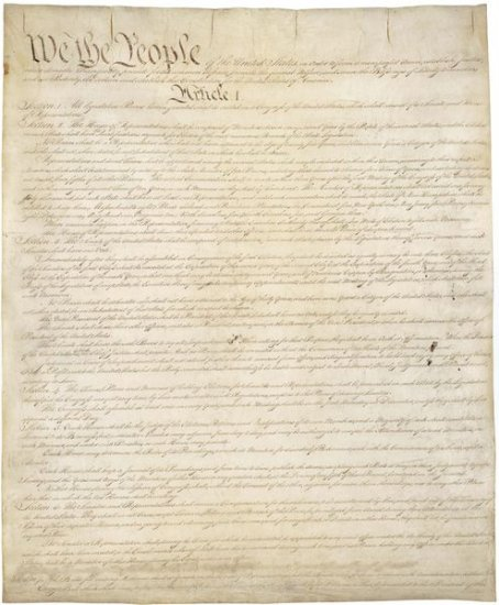 United States History - Americans Build A New Government  - Approving The Constitution 1780 - 1815