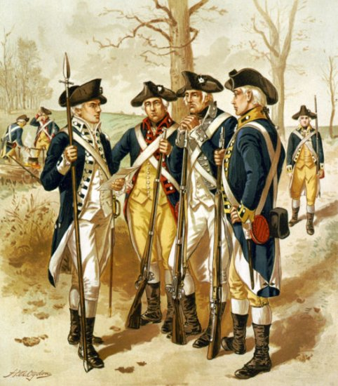 United States History - From Revolution To Independence - The War For Independence - 1754 - 1783