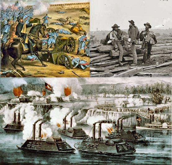 United States History - The Civil War - The War &  American Life  - 1861 - 1865