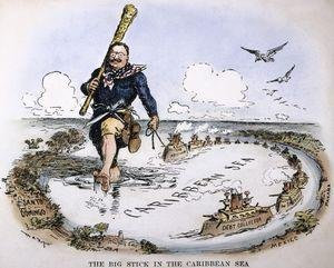 U. S. History - The United States As A World Power - The Big Stick In Latin America - 1890 - 1916