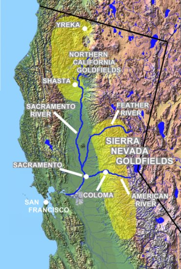 United States History - Expansion  Of The United States - Californians &  A New State - 1820 - 1850