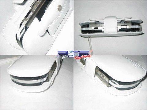 Capdase S-Bracket Leather Case (white)