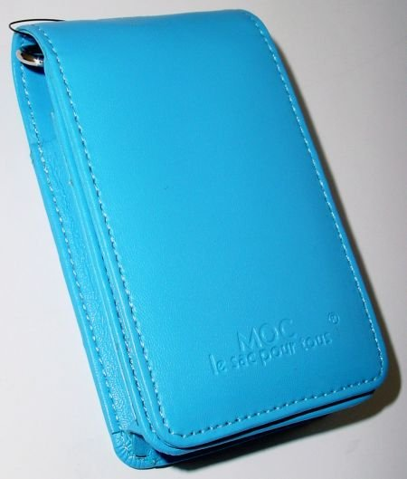 MOC Leather Case (Blue) SPECIAL SALE PRICE