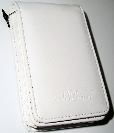 MOC Leather Case (White) SPECIAL SALE PRICE