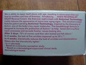 Avon Anew Reversalist Night Renewal Cream Trial Size