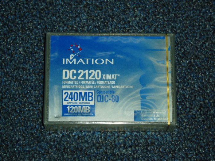Imation DC2120 Storage Cassette