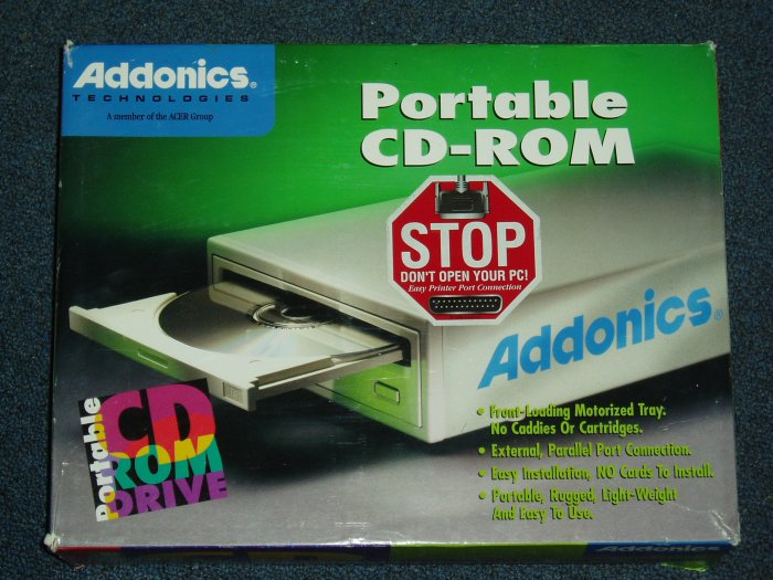 Portable CD Rom Drive