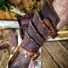 Leather Gloves Handguards Soldier War Armor Bracers Gauntlet Wristband Medieval