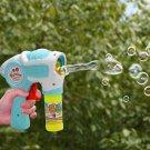 Electric Automatic Soap Bubble Machine Bubble Blower For Children Kids Toys Gun