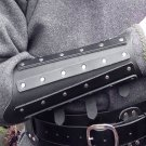 Medieval Accessories Leather Armor Arm Warmers Viking Gauntlet Wristband Bracer