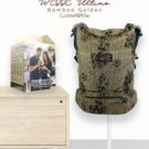 WCSSC Jacquard Ultimo Carrier Cuddle Me | WOVEN Wrap convert to SSC | NB to toddler| Bamboo Golden