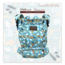 Multi Carriying Baby Carrier Cuddle me Ultimo | from NB to toddler | Cotton Canvas | Safari Tosca