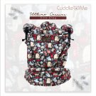 Multi Carriying Baby Carrier Cuddle me Ultimo | from NB to toddler | Cotton Canvas | Dino Grey