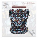 Multi Carriying Baby Carrier Cuddle me Ultimo | from NB to toddler | Cotton Canvas | DINO NAVY