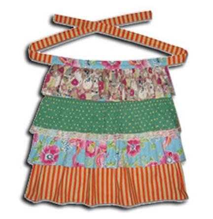Funktion Vintage Chic Ruffle Kid's Apron