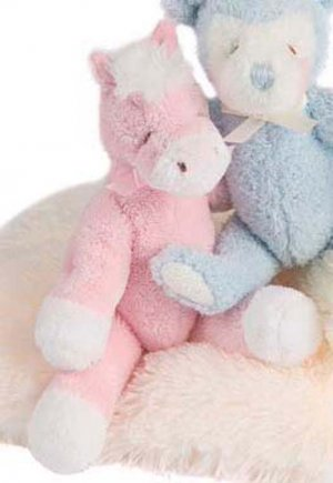 Douglas Pink Horse Rattle Buddy SOFTEST on Market