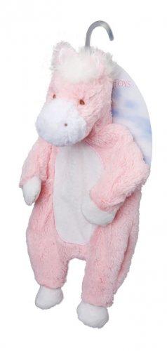 Douglas Plush Pink Horse Sshlumpie Blankie Buddy