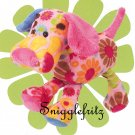Douglas Hippie THELMA Pink Flower Dog - SO SOFT!!!