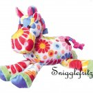 Douglas Hippie GRETA White Flower Horse - SO SOFT!!!