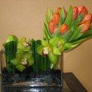 Exquisite Tulips & Orchids