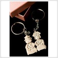 Asian Wedding Souvenir Keychain