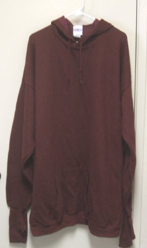 New HANDCUFFS HOODIE SWEATSHIRT 3XLT 3XL T  Burgundy