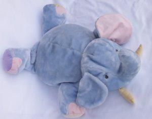 CARTERS JOHN LENNON LARGE PLUSH ELEPHANT Nursery Decor / Pillow / Toy   EUC