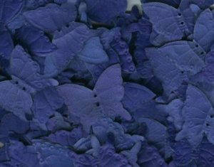 Royal Blue Silk Butterfly Petals ~ Wedding ~ Shower ~ Party ~ Favors