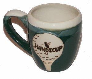 Ceramic Golf Handicup Mug Golfer Cup - Large Mug Handicap