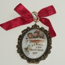 1998 Friend Christmas Ornament Carlton Cards Heirloom Collection